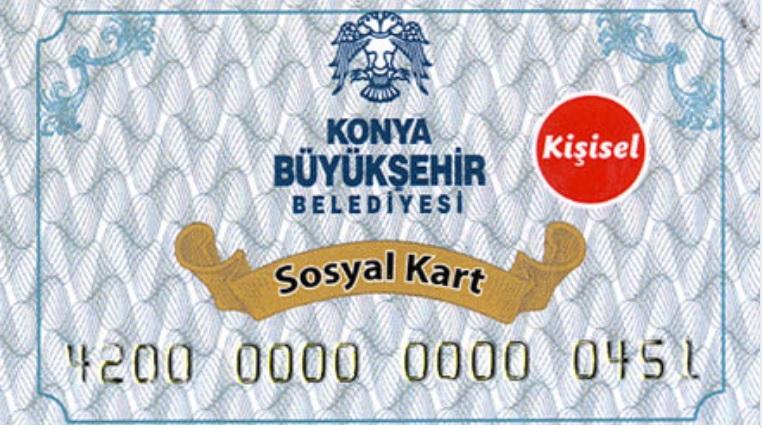konya belediyesi sosyal yardım kartı